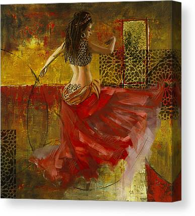 Moroccan Dancer Canvas Prints