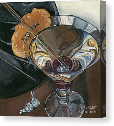 Alcoholic Canvas Prints