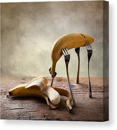 Yellow Bananas Canvas Prints
