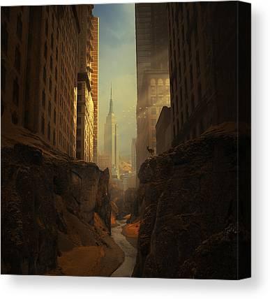 Sunbeams Canvas Prints