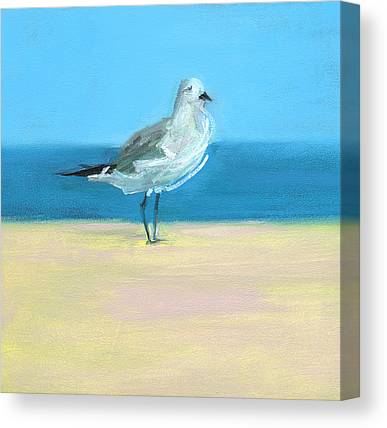 Shore Bird Canvas Prints