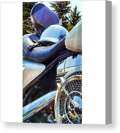 Harley Davidson Canvas Prints