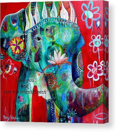 Large Mammals Canvas Prints