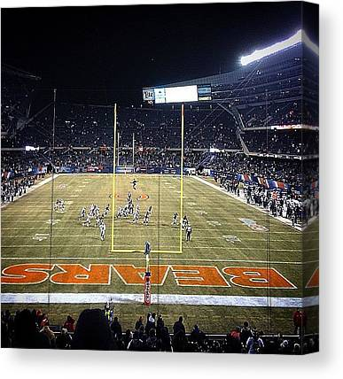 Soldier Field Canvas Prints