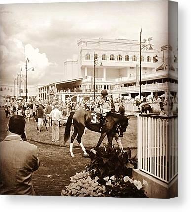 Race Horses Canvas Prints