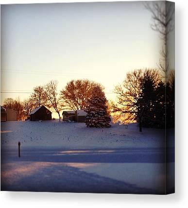 Snow Canvas Prints