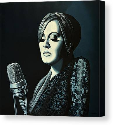 Adele Canvas Prints