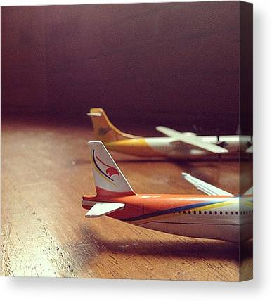 Toy Airplanes Canvas Prints