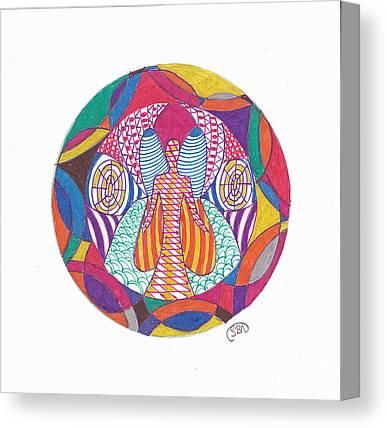 Decorativ Drawings Canvas Prints