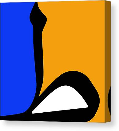 Simple Abstract Paintings Canvas Prints