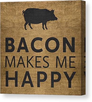 Bacon Canvas Prints