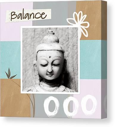Zen Balance Canvas Prints