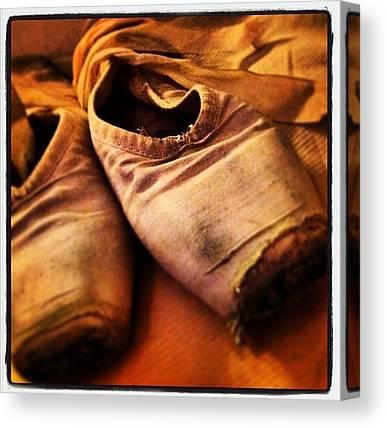 Ballet Shoes Canvas Prints