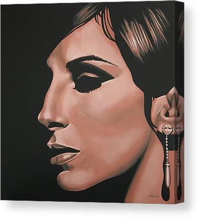 Streisand Canvas Prints