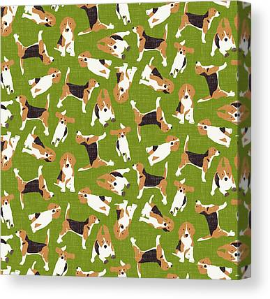 Beagles Canvas Prints
