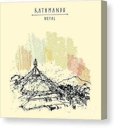 Pilgrimage Canvas Prints