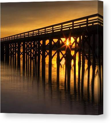 Ocean Sunsets Canvas Prints