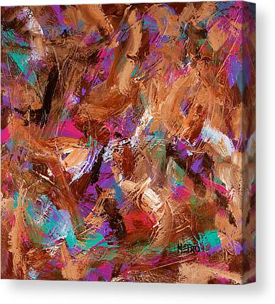Buried Paintings Canvas Prints