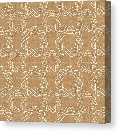 Geometric Design Canvas Prints