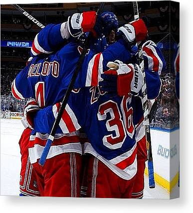 Hockey Teams Canvas Prints