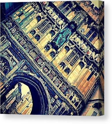 Romanesque Art Canvas Prints