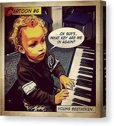 Beethoven Canvas Prints