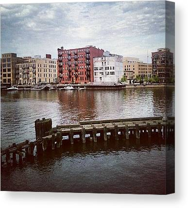 Warehouses Canvas Prints