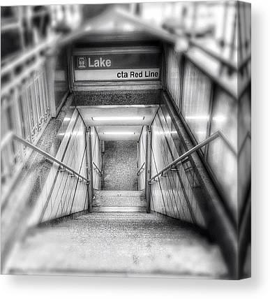 Subway Canvas Prints