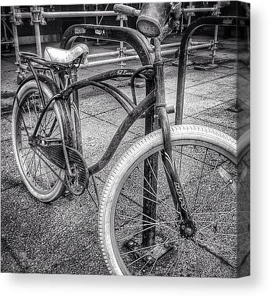Bicycles Canvas Prints
