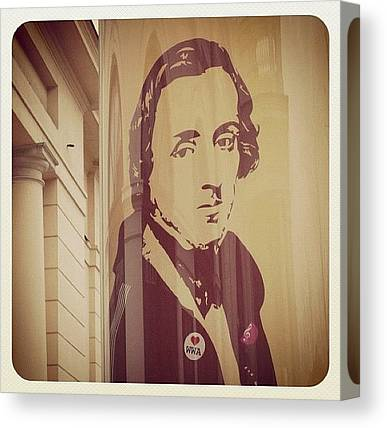 Chopin Canvas Prints