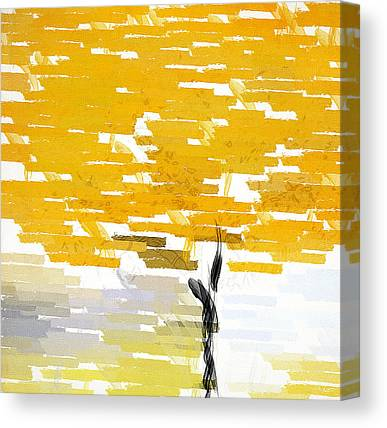 Browns And Golds Canvas Prints