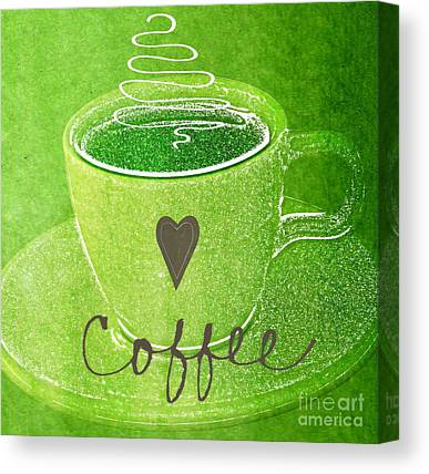 Cup Of Coffee Canvas Prints