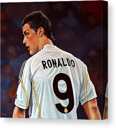 Cristiano Ronaldo Canvas Prints