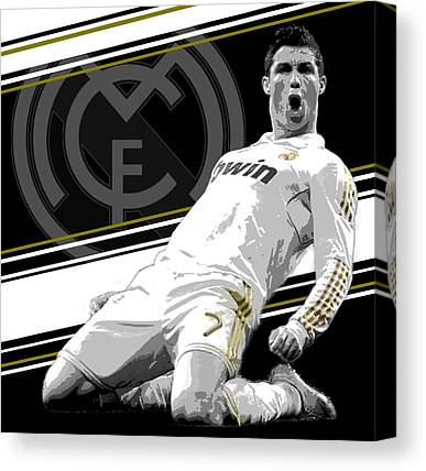 Real Madrid Canvas Prints