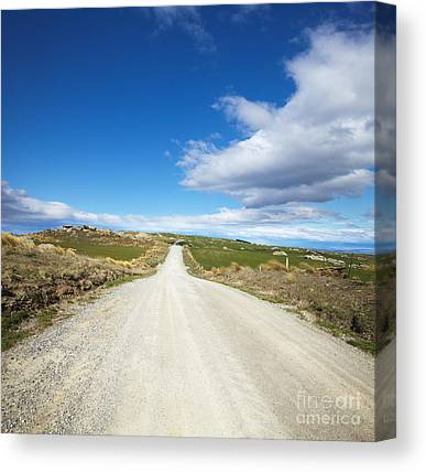Country Dirt Roads Canvas Prints