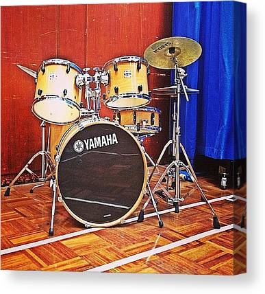 Percussion Instruments Canvas Prints