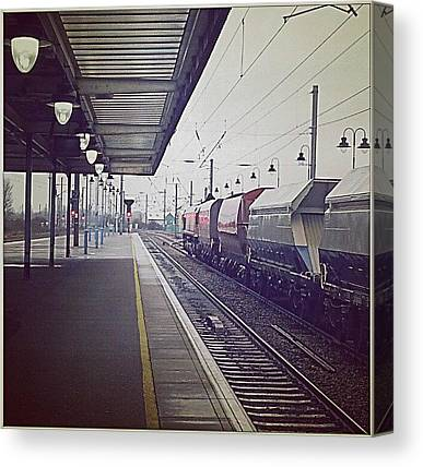 Freight Trains Canvas Prints