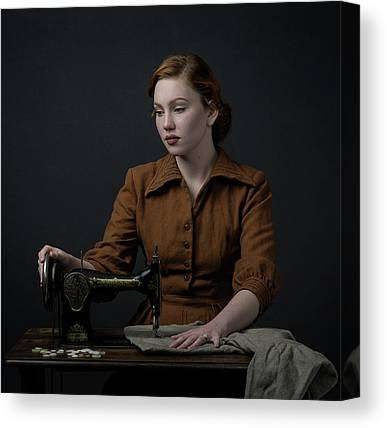 Sewing Machines Canvas Prints
