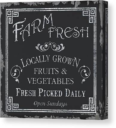 Farmers Market Canvas Prints