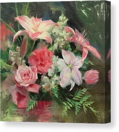 Pink Carnation Canvas Prints