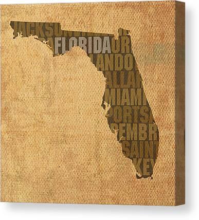 Florida Canvas Prints