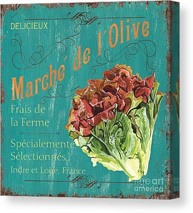 Local Food Canvas Prints