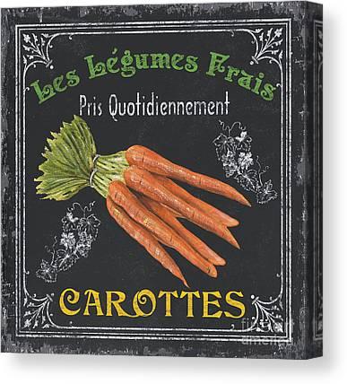Carrot Canvas Prints