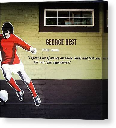 George Best Canvas Prints