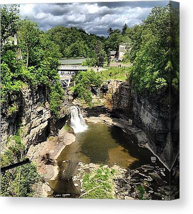 Waterfalls Canvas Prints
