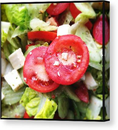 Salad Canvas Prints