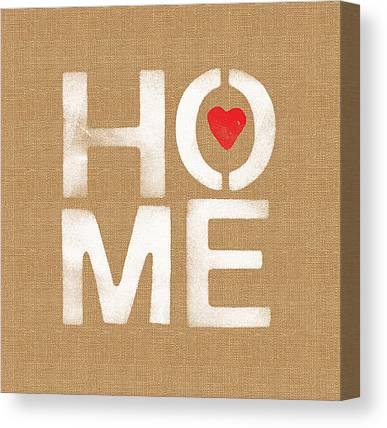 Home Canvas Prints