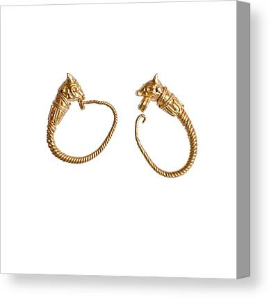 Hellenistic Earrings Canvas Prints