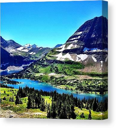 Glaciers Canvas Prints