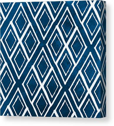 Pattern Paintings Canvas Prints